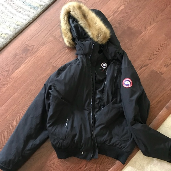 Canada Goose down bomber jacket men's